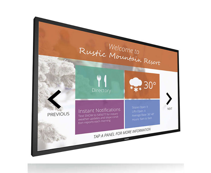 Philips BDL8470QT 84 inch Touch Screen | Vision2Watch Australia